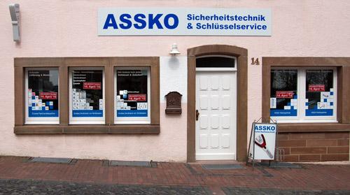Assko Sicherheitstechnik in Warburg bietet Einbruchschutz, Alarmanlagen, Videoüberwachung, Tresore, Schlüsselservice uvm.